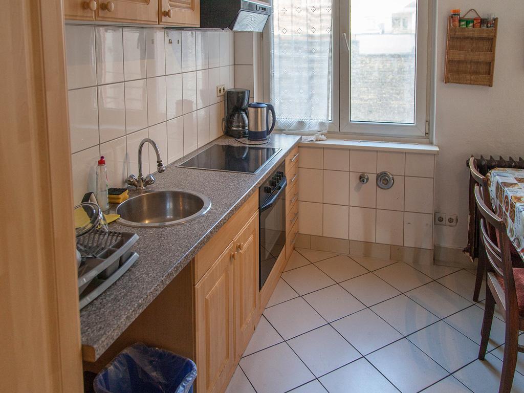 Betreutes Wohnen, Küche